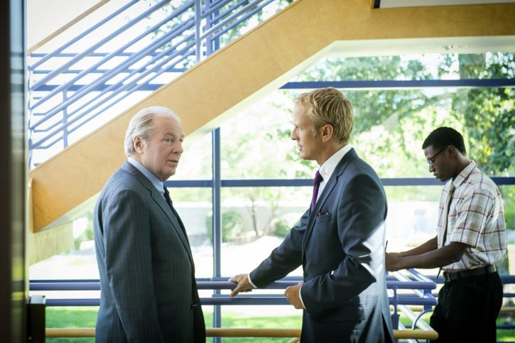Patrick Fabian as Howard Hamlin and Michael McKean as Chuck McGill - Better Call Saul _ Season 2, Episode 2 - Photo Credit: Ursula Coyote/Sony Pictures Television/ AMC