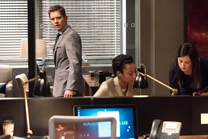 """Targets"" -- Alicia joins a secret panel of attorneys advising the U.S. government on a controversial case. Also, Eli hires Elsbeth Tascioni (Carrie Preston) to uncover why the FBI is targeting Peter, on THE GOOD WIFE, Sunday, Feb. 21 (9:00-10:00 PM, ET/PT) on the CBS Television Network. Matt Czuchry as Cary Agos   Photo:  Jeff Neumann/CBS ©2015 CBS Broadcasting, Inc. All Rights Reserved"