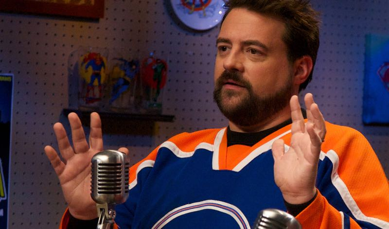 Kevin Smith Geeking Out