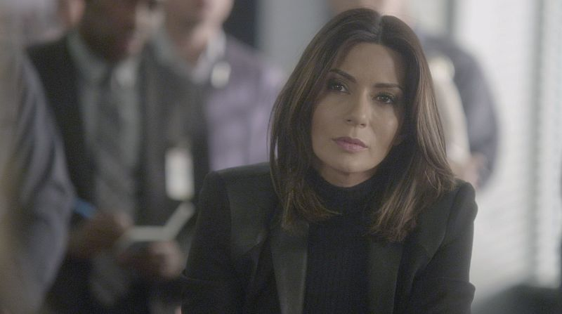 """A Badge and a Gun"" -- The BAU searches Los Angeles after the team discovers security footage that shows an UnSub being invited into victims' homes, on CRIMINAL MINDS, Wednesday, Feb. 24 (9:00-10:00 PM, ET/PT) on the CBS Television Network. Pictured: Marisol Nichols returns as Agent Natalie Colfax. Photo: CBS ©2015 CBS Broadcasting, Inc. All Rights Reserved"