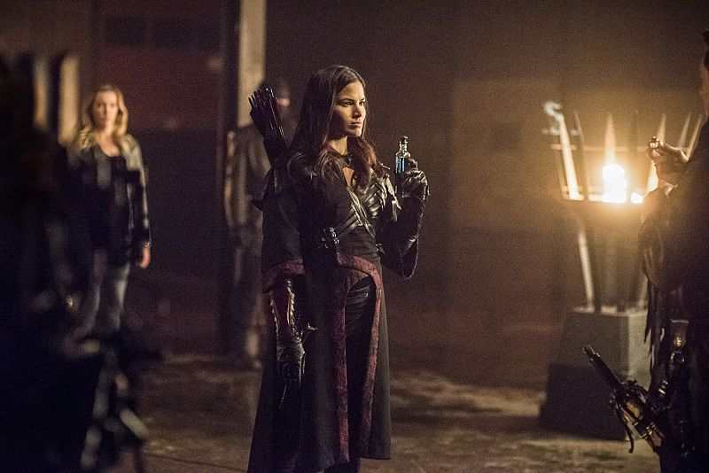 "Arrow -- ""Sins of the Father"" -- Image AR413b_0379b.jpg -- Pictured: Katrina Law as Nyssa al Ghul -- Photo: Dean Buscher/ The CW -- © 2016 The CW Network, LLC. All Rights Reserved."