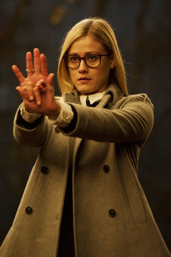 "THE MAGICIANS -- ""Remedial Battle Magic"" Episode 111 -- Pictured: Olivia Taylor Dudley as Alice -- (Photo by: Carole Segal/Syfy)"