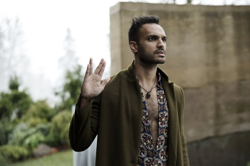 "THE MAGICIANS -- ""Homecoming"" Episode 110 -- Pictured: Arjun Gupta as Penny -- (Photo by: Carole Segal/Syfy)"