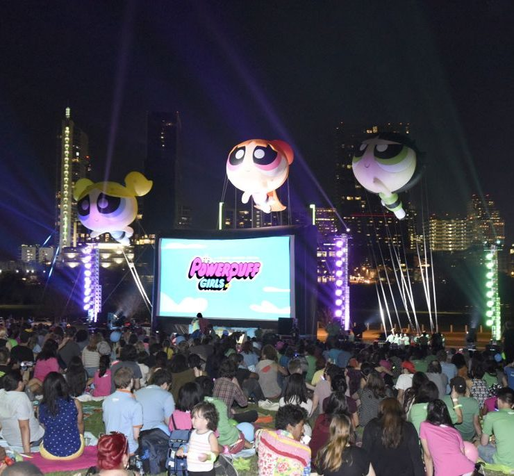 """""The Powerpuff Girls"" Parade and Screening at SXSW"""