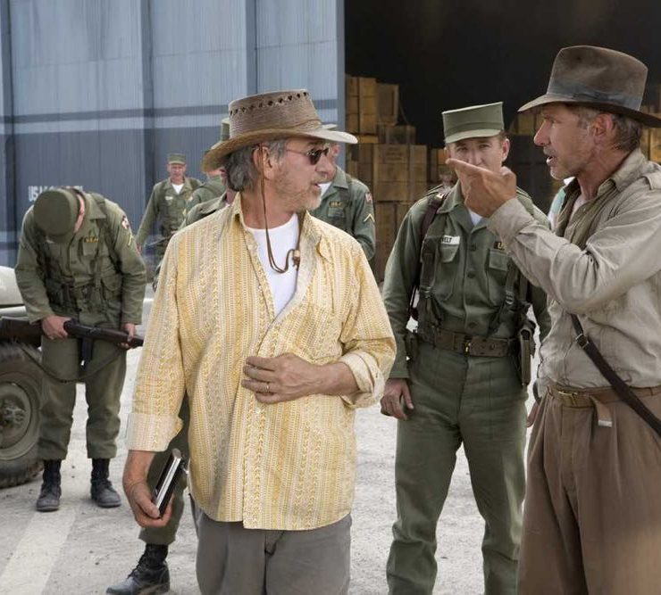 spielberg Harrison Ford Indiana Jones