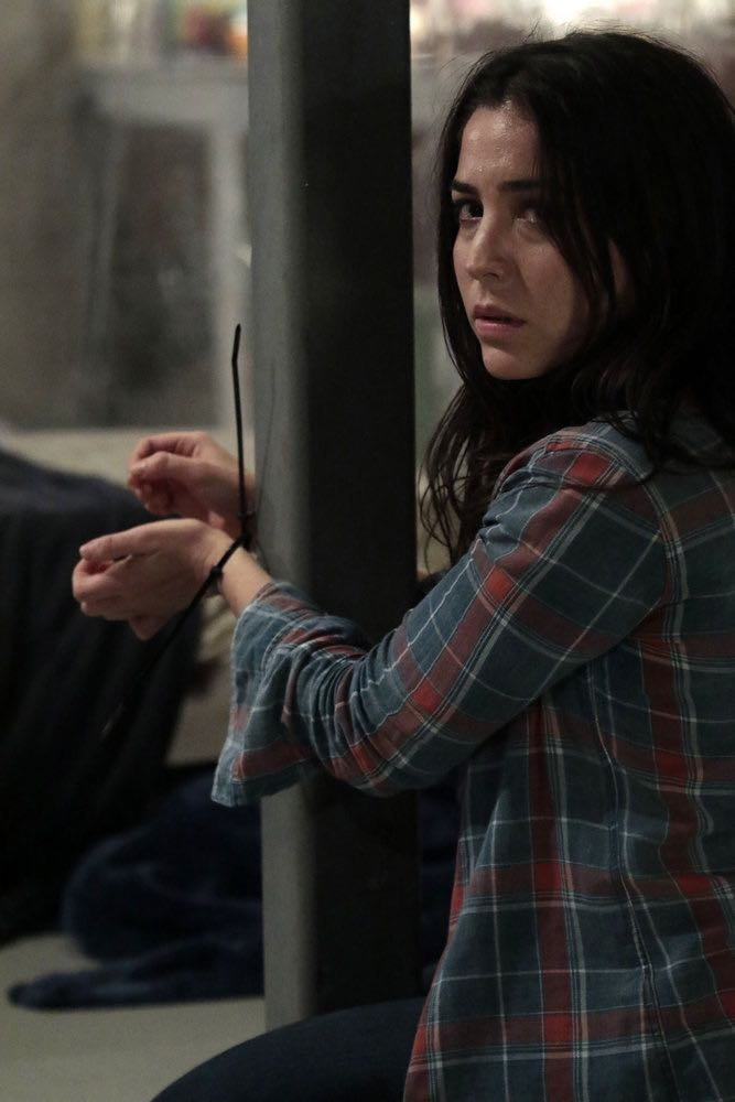 """BLINDSPOT -- """"Rules In Defiance"""" Episode 114 -- Pictured: Audrey Esparza as Zapata -- (Photo by: Giovanni Rufino/NBC)"""