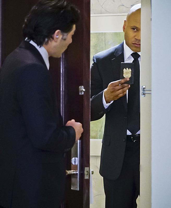 """""""Seoul Man"""" -- Pictured: LL COOL J (Special Agent Sam Hanna). While assigned to protective details for the commander of the Pacific Command, the team searches for a North Korean spy, on NCIS: LOS ANGELES, Monday, March 28 (9:59-11:00, ET/PT), on the CBS Television Network. Photo: Sonja Flemming/CBS ©2016 CBS Broadcasting, Inc. All Rights Reserved"""