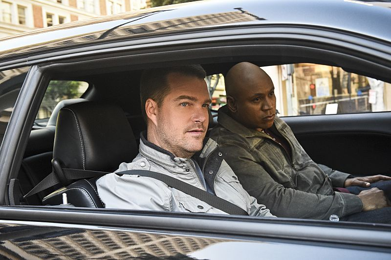 """""""The Seventh Child"""" -- Pictured: Chris O'Donnell (Special Agent G. Callen) and LL COOL J (Special Agent Sam Hanna). Callen and the team try to save a child in imminent danger who has been brainwashed by a terrorist cell. Also, Deeks and Kensi discuss having children, on NCIS: LOS ANGELES, Monday, March 21 (9:59-11:00 PM, ET/PT), on the CBS Television Network. Photo: Ron P. Jaffe/CBS ©2016 CBS Broadcasting, Inc. All Rights Reserved."""