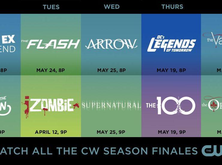 The CW Season Finale Dates