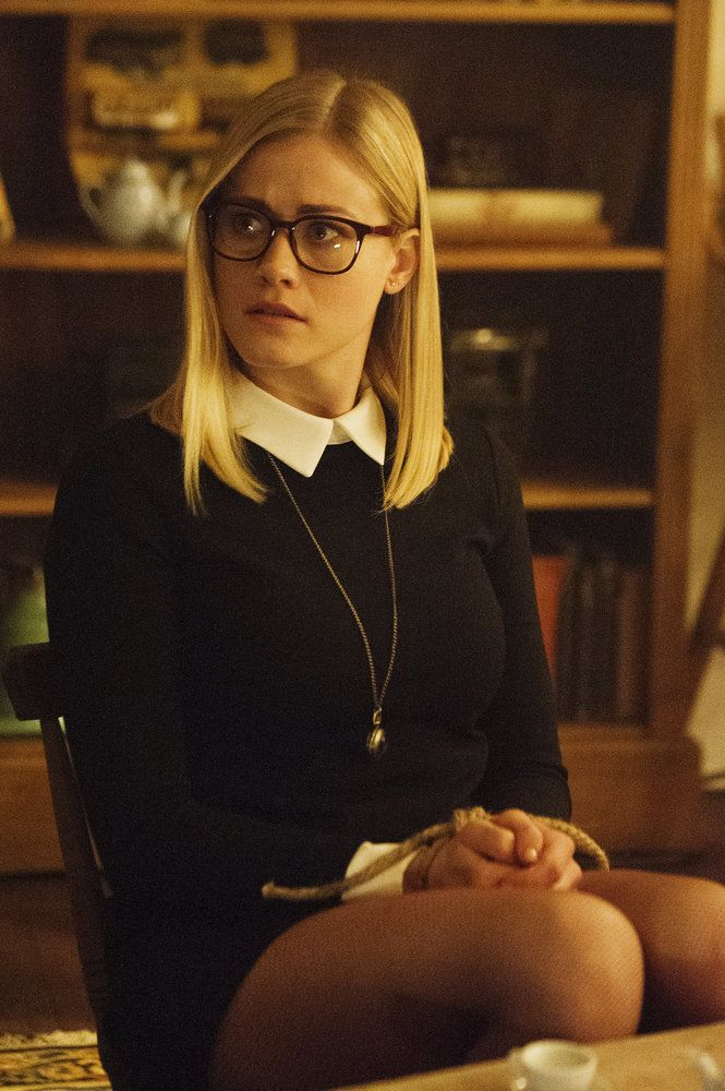 "THE MAGICIANS -- ""The Writing Room"" Episode 109 -- Pictured: Olivia Taylor Dudley as Alice -- (Photo by: Carole Segal/Syfy)"