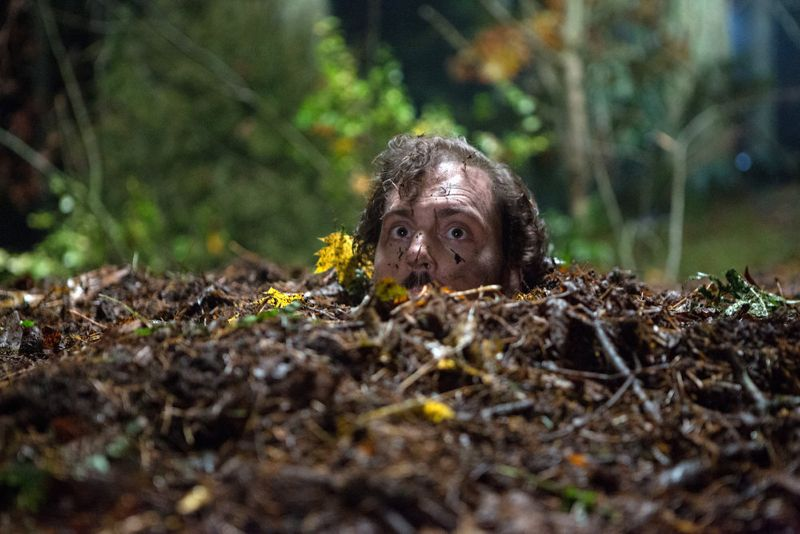 "GRIMM -- ""Into The Schwarzwald"" Episode 512 -- Pictured: Silas Weir Mitchell as Monroe -- (Photo by: Scott Green/NBC)"