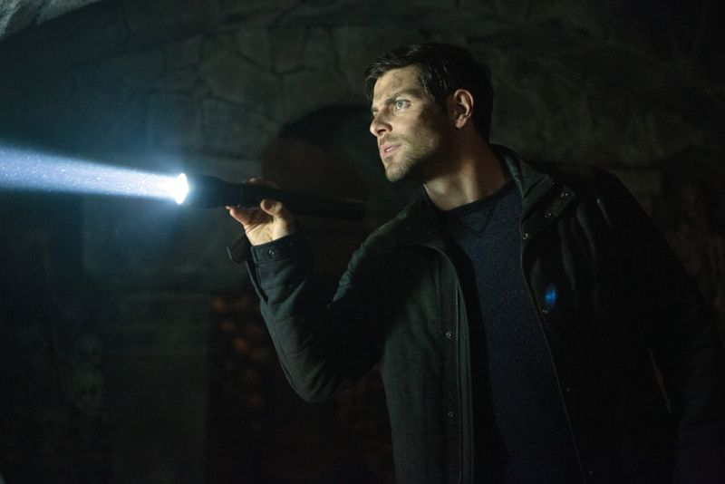 "GRIMM -- ""Into The Schwarzwald"" Episode 512 -- Pictured: David Giuntoli as Nick Burkhardt -- (Photo by: Scott Green/NBC)"
