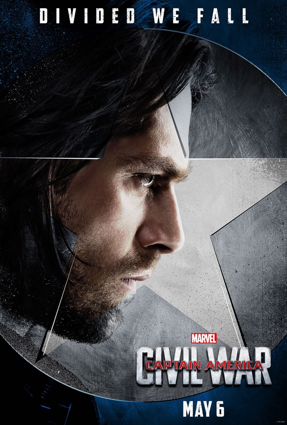 CAPTAIN AMERICA CIVIL WAR : Sebastian Stan Winter Soldier