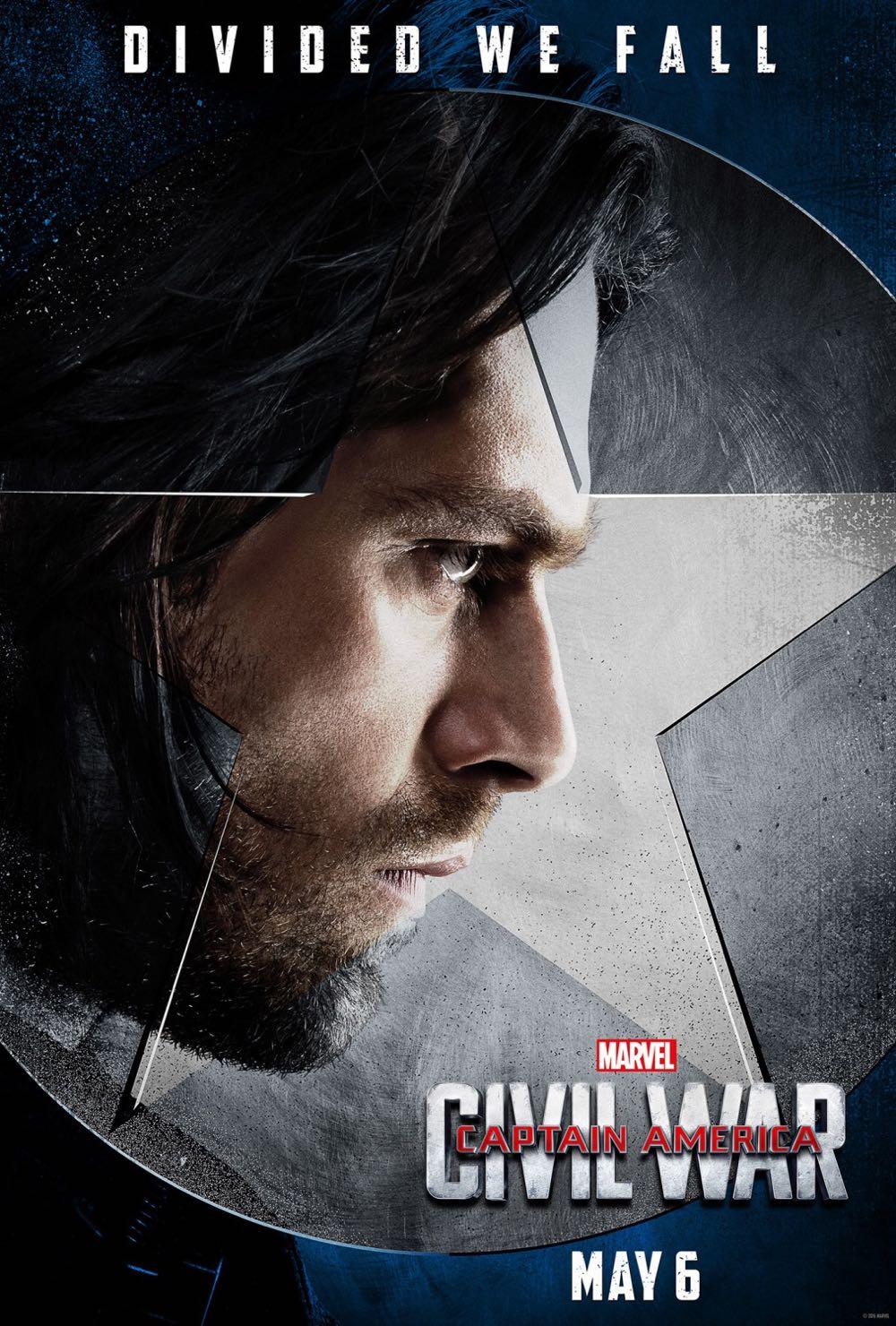 CAPTAIN AMERICA CIVIL WAR : Sebastian Stan Winter Soldier