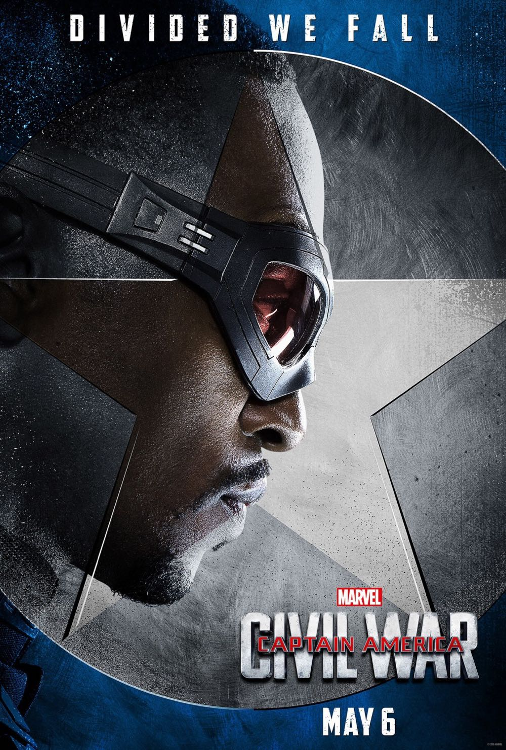 CAPTAIN AMERICA CIVIL WAR : Anthony Mackie Falcon