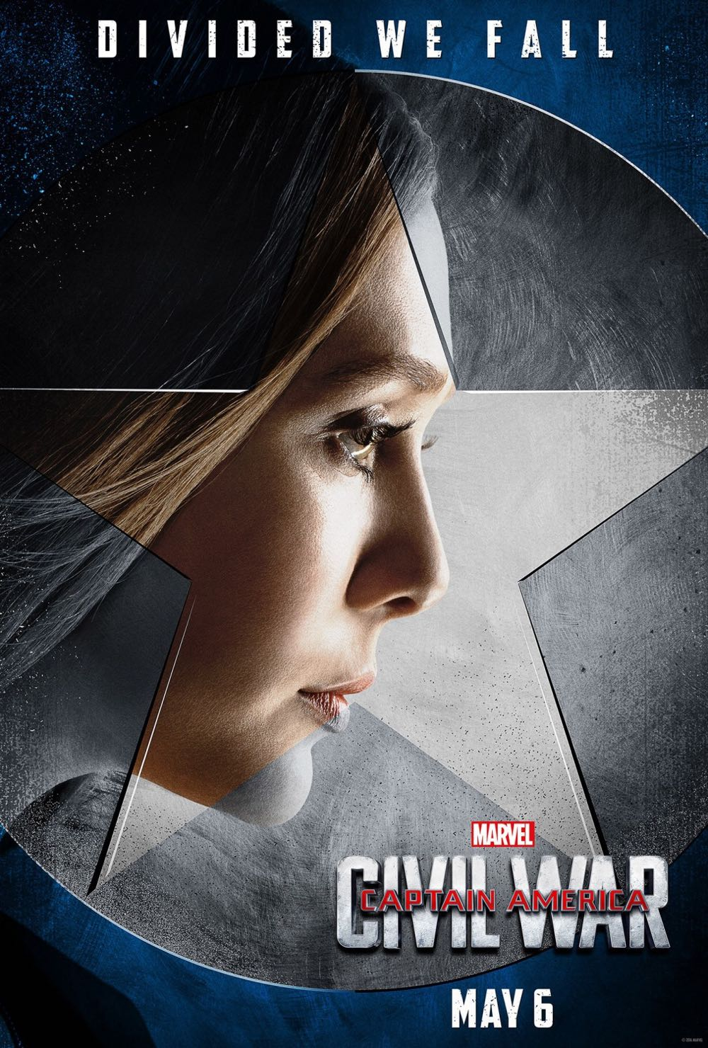 CAPTAIN AMERICA CIVIL WAR : Elizabeth Olsen Scarlet Witch