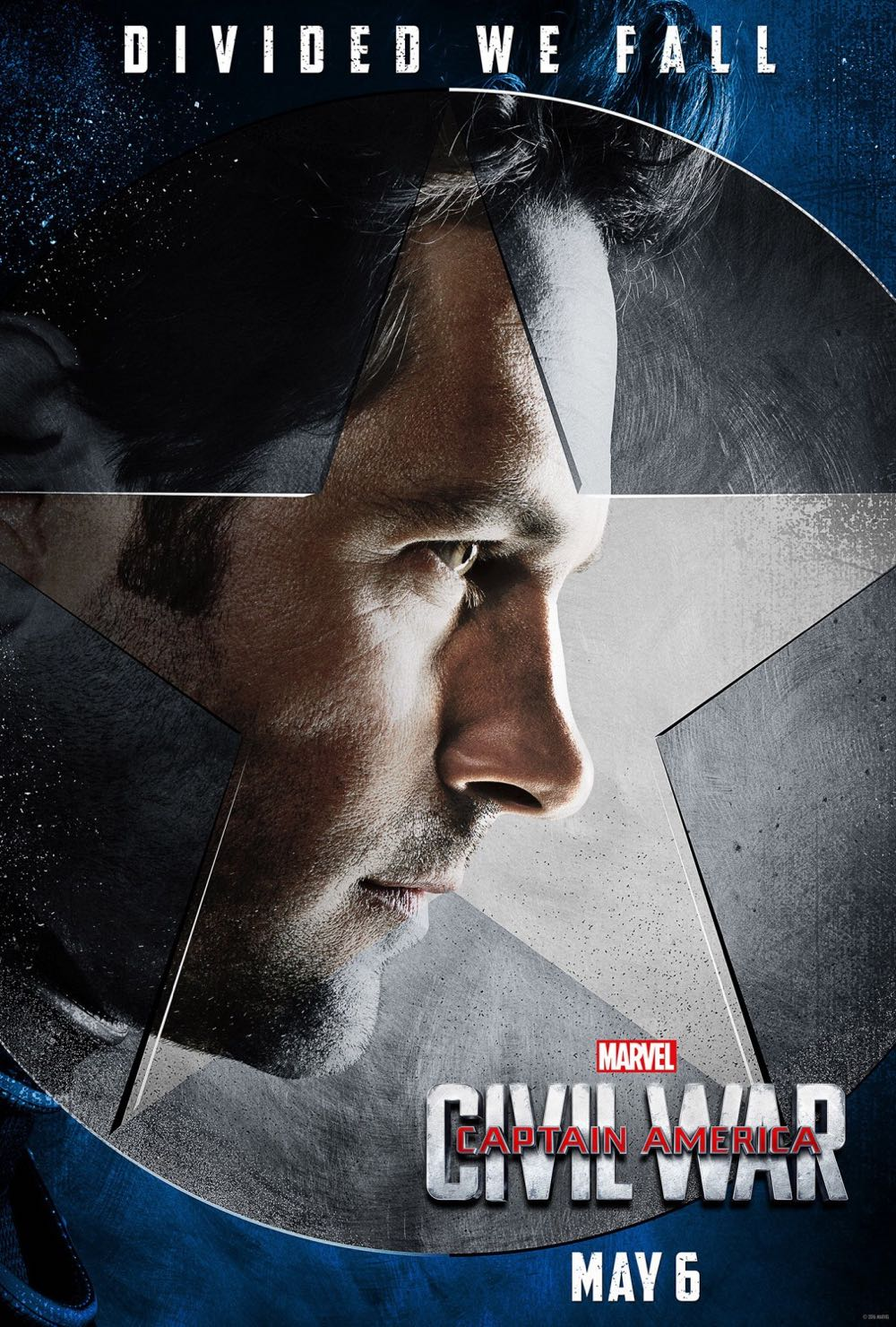 CAPTAIN AMERICA CIVIL WAR : Paul Rudd Ant Man