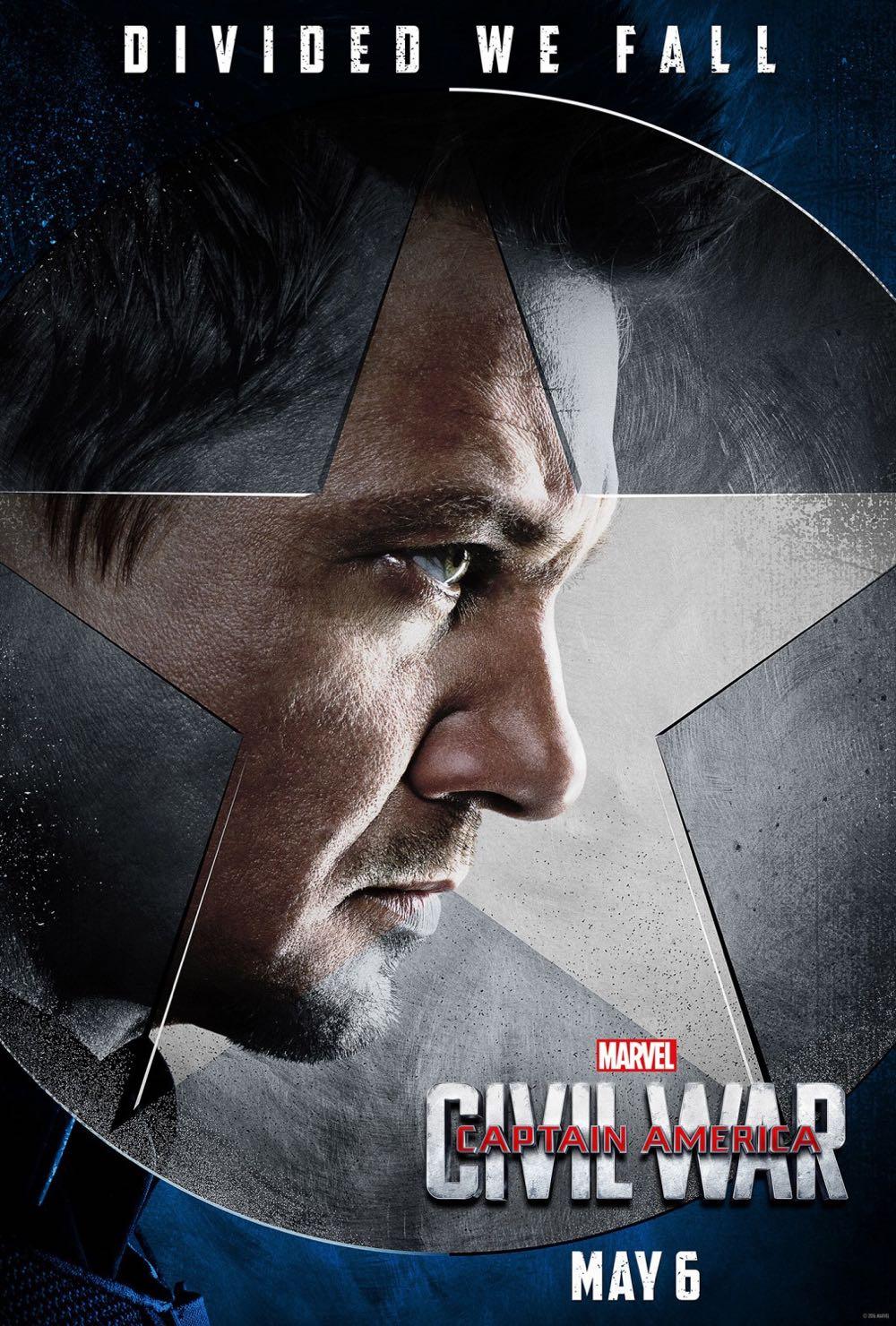 CAPTAIN AMERICA CIVIL WAR : Jeremy Renner Hawkeye