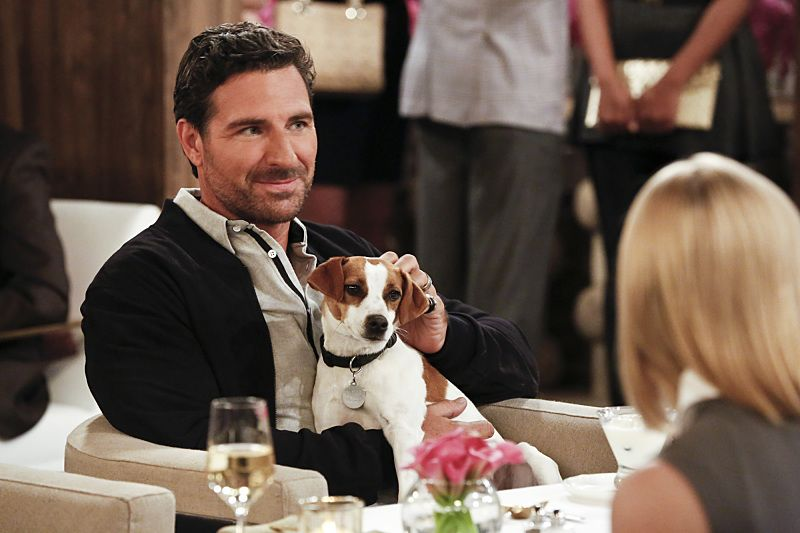 """And the Great Escape"" -- Pictured: Randy (Ed Quinn). As Max pet sits Randy's dog, Bruno, at his Hollywood Hills home, and Caroline sets up meetings with actresses who are interested in playing her in the potential biopic, Bruno escapes while a cannibalistic serial killer is loose in their neighborhood, on 2 BROKE GIRLS, Thursday, March 10 (9:30-10:00 PM, ET/PT) on the CBS Television Network. Photo: Robert Voets/CBS ©2016 CBS Broadcasting, Inc. All Rights Reserved."