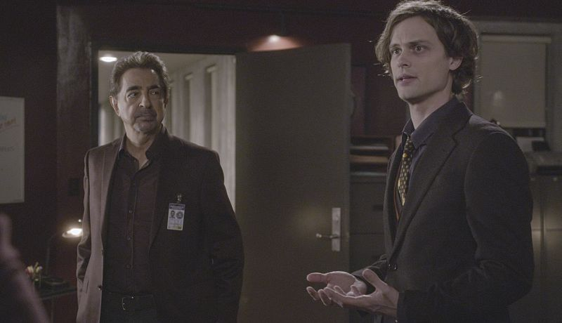 """Derek"" -- When Morgan is abducted, the BAU scrambles to find him and save his life, on CRIMINAL MINDS, Wednesday, March 2 (9:00-10:00 PM, ET/PT) on the CBS Television Network. Series star Thomas Gibson directed the episode. Legendary actor Danny Glover guest stars as Morgan's father, Hank. Pictured: Joe Mantegna as David Rossi, Matthew Gray Gubler as Dr. Spencer Reid.   Photo: Trae Patton/CBS ©2016 CBS Broadcasting, Inc. All Rights Reserved"