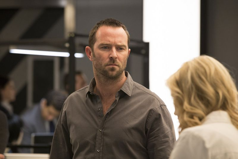 "BLINDSPOT -- ""Scientists Hollow Fortune"" Episode 112 -- Pictured: Sullivan Stapleton as Kurt Weller -- (Photo by: {Paul Sarkis/NBC)"