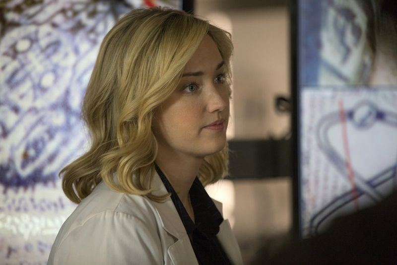 "BLINDSPOT -- ""Scientists Hollow Fortune"" Episode 112 -- Pictured: Pictured: Ashley Johnson as Patterson -- (Photo by: {Paul Sarkis/NBC)"