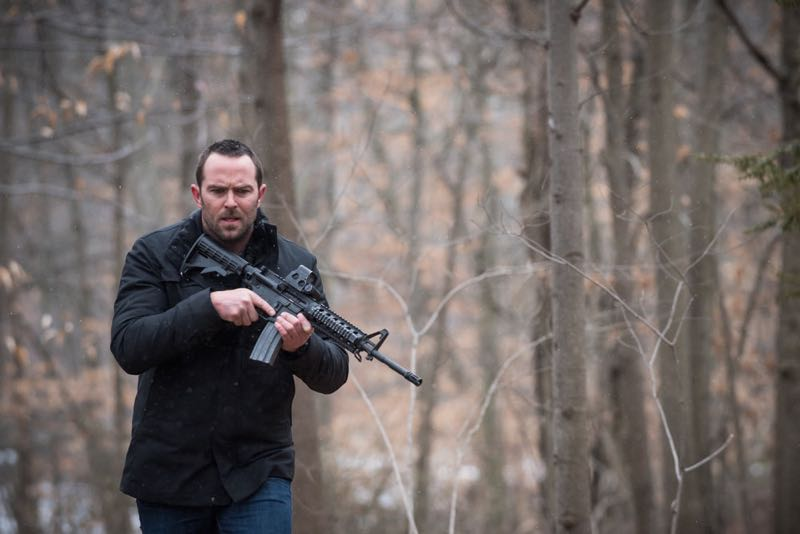 "BLINDSPOT -- ""Mans Telepathic Loyal Lookouts"" Episode 117 -- Pictured: Sullivan Stapleton as Kurt Weller -- (Photo by: Jeff Neumann/NBC)"