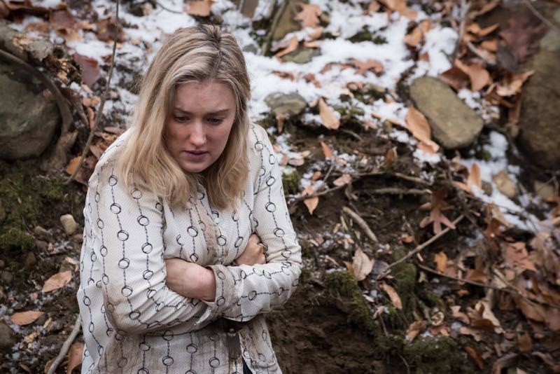 "BLINDSPOT -- ""Mans Telepathic Loyal Lookouts"" Episode 117 -- Pictured: Ashley Johnson as Patterson -- (Photo by: Jeff Neumann/NBC)"