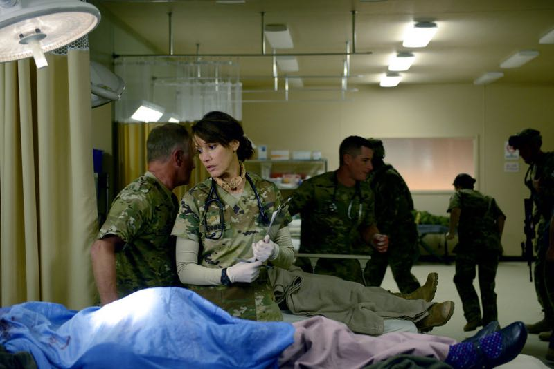 "THE NIGHT SHIFT -- ""The Times They Are-A-Changin"" Episode 301 -- Pictured: Jennifer Beals as Syd Jennings -- (Photo by: Ursula Coyote/NBC)"