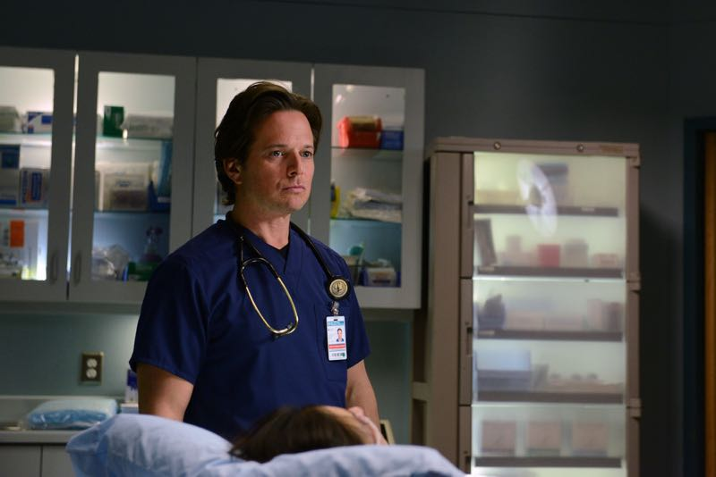 "THE NIGHT SHIFT -- ""The Times They Are-A-Changin"" Episode 301 -- Pictured: Scott Wolf as Dr. Scott Clemmens -- (Photo by: Ursula Coyote/NBC)"