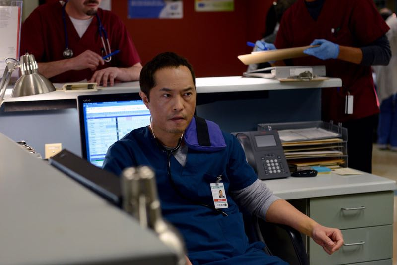 "THE NIGHT SHIFT -- ""The Times They Are-A-Changin"" Episode 301 -- Pictured: Ken Leung as Dr. Topher Zia -- (Photo by: Ursula Coyote/NBC)"