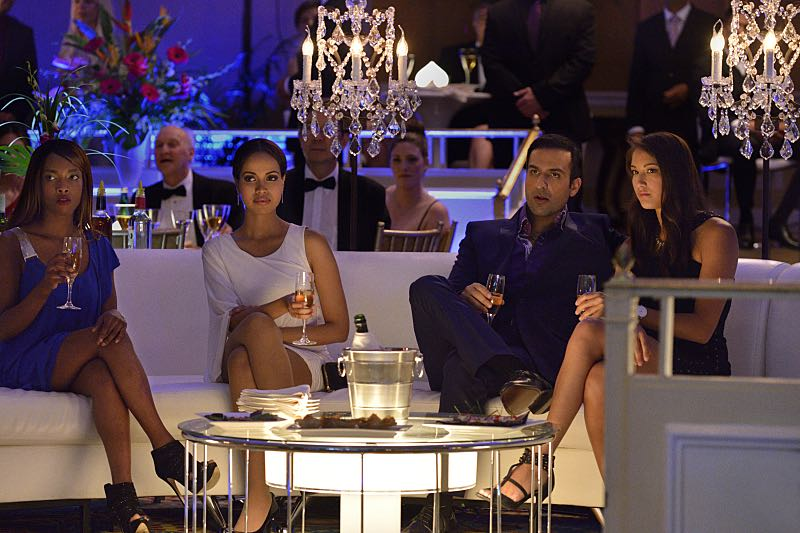 """Beauty and the Beast -- """"Down for the Count"""" -- Image Number: BB403a_0208.jpg -- Pictured (right center): Saad Siddiqui as Pierre Medjani -- Photo: Ben Mark Holzberg/The CW -- © 2016 The CW Network. All Rights Reserved."""
