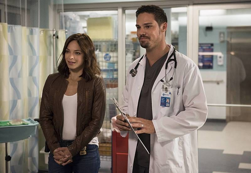 "Beauty and the Beast -- ""Beast Interrupted"" -- Image Number: BB402a_0160.jpg -- Pictured (L-R): Kristin Kreuk as Catherine and Jay Ryan as Vincent -- Photo: Christos Kalohoridis/The CW -- © 2016 The CW Network. All Rights Reserved."