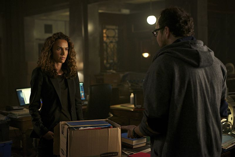 """Beauty and the Beast -- """"Monsieur et Madame Bete"""" -- Image Number: BB401a_0080.jpg -- Pictured (L-R): Nina Lisandrello as Tess and Austin Basis as JT -- Photo: Sven Frenzel/The CW -- © 2016 The CW Network. All Rights Reserved."""
