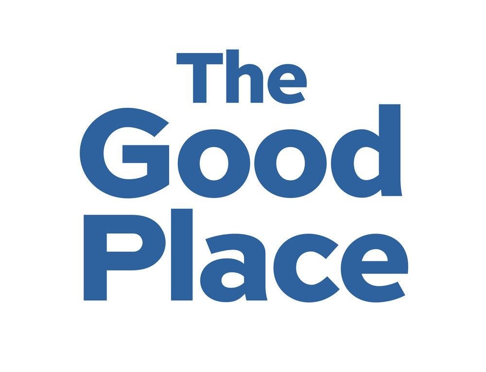 "THE GOOD PLACE -- Pictured: ""The Good Place"" Logo -- (Photo by: NBCUniversal)"