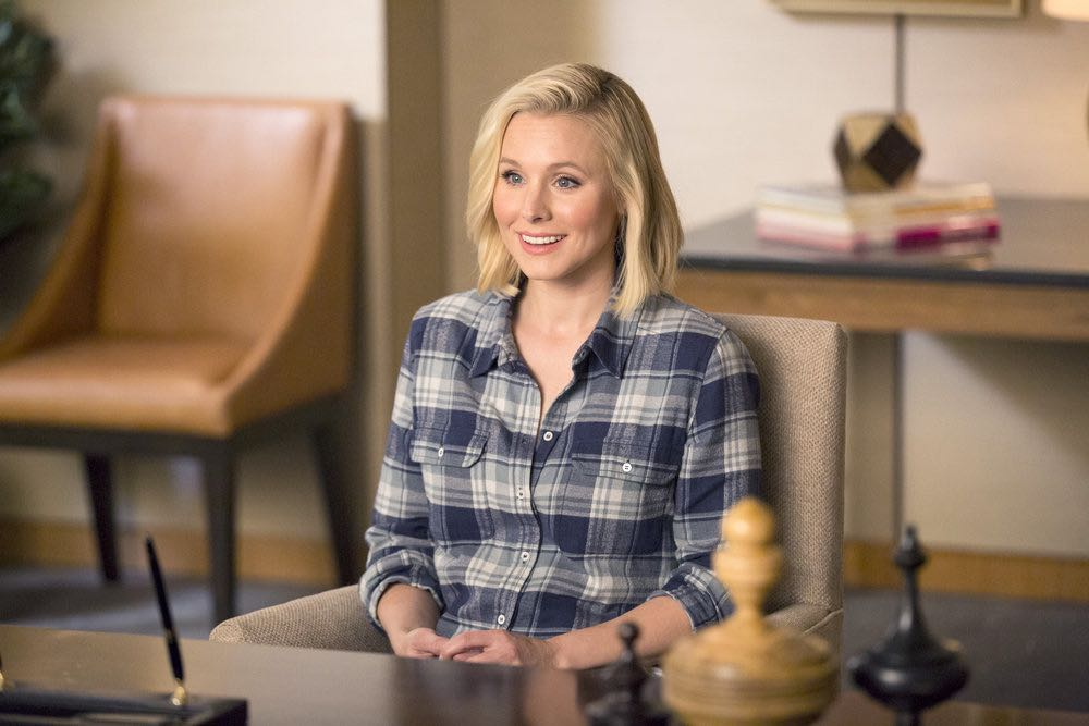 "THE GOOD PLACE -- ""Everything Is Fine"" Episode 101-- Pictured: Kristen Bell as Eleanor -- (Photo by: Justin Lubin/NBC)"