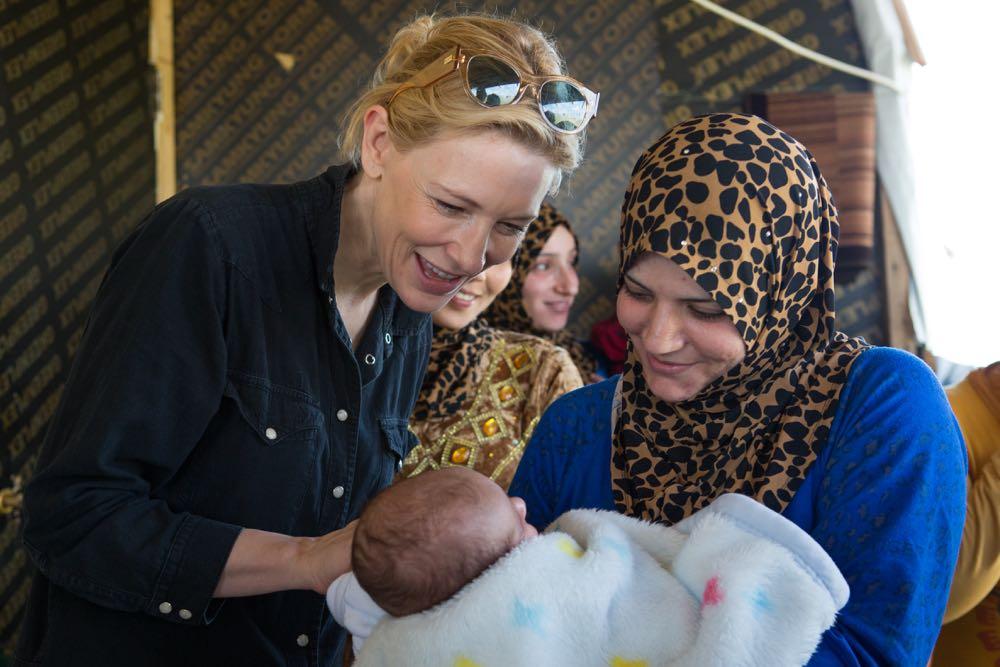 Lebanon. Cate Blanchett's visit