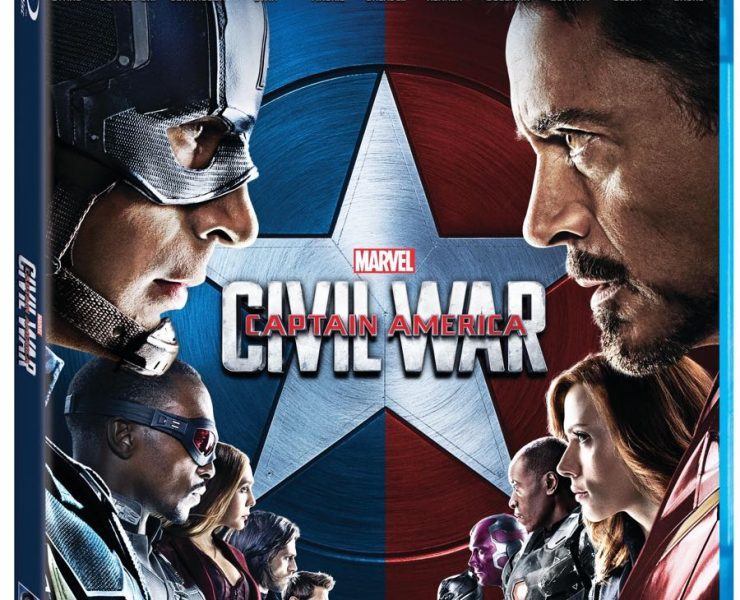 Captain America Civil War Bluray