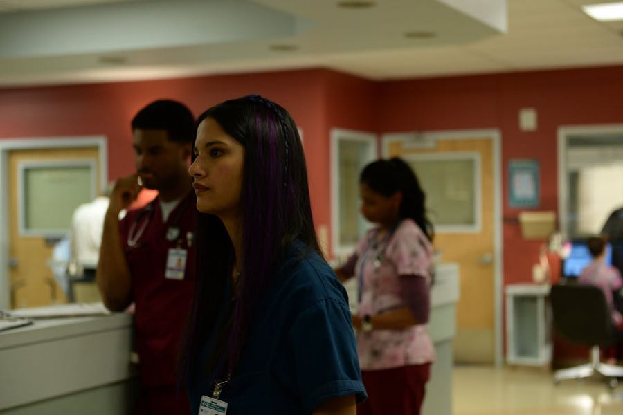 """THE NIGHT SHIFT -- """"By Dawn's Early Light"""" Episode 307 -- Pictured: Tanaya Beatty as Dr. Shannon Rivera -- (Photo by: Ursula Coyote/NBC)"""