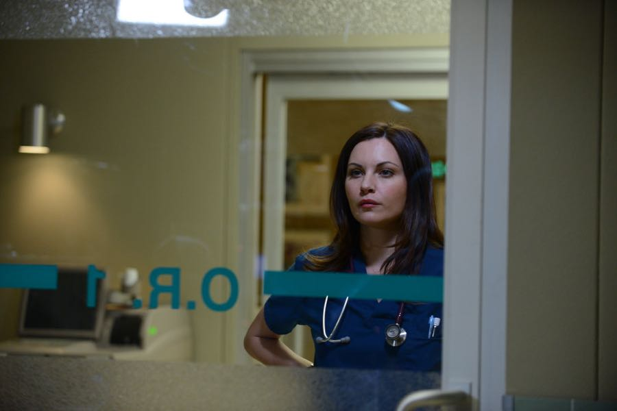 """THE NIGHT SHIFT -- """"By Dawn's Early Light"""" Episode 307 -- Pictured: Jill Flint as Dr. Jordan Alexander -- (Photo by: Ursula Coyote/NBC)"""