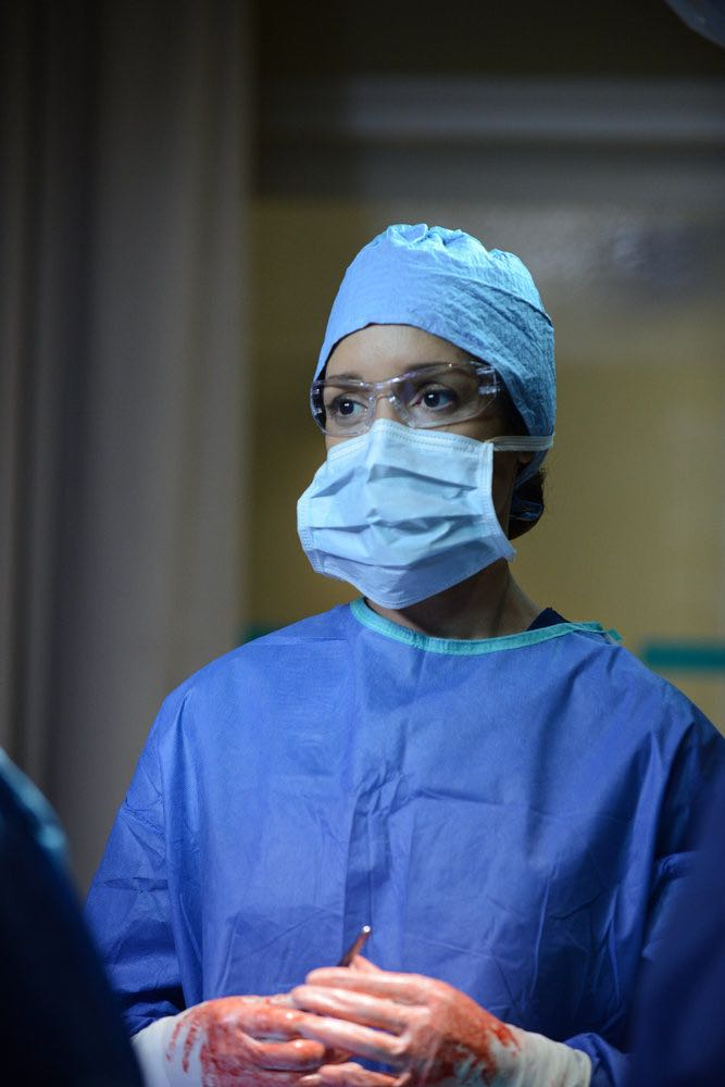 "THE NIGHT SHIFT -- ""By Dawn's Early Light"" Episode 307 -- Pictured: Jennifer Beals as Syd Jennings -- (Photo by: Ursula Coyote/NBC)"