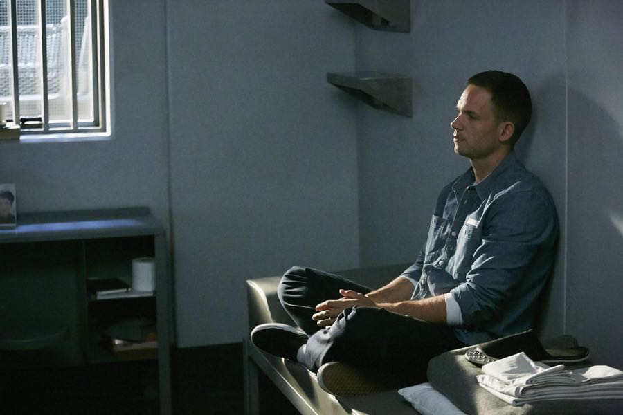 SUITS -- Episode 601 -- Pictured: Patrick J. Adams as Michael Ross -- (Photo by: Ian Watson/USA Network)