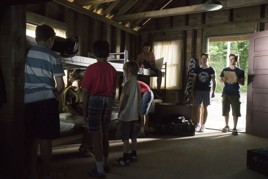 """DEAD OF SUMMER - """"Barney Rubble Eyes"""" - A new camper finds himself in the middle of the mystery of Camp Stillwater in """"Barney Rubble Eyes,"""" an all new episode of """"Dead of Summer,"""" airing TUESDAY, JULY 5 (9:00 – 10:00 p.m. EDT) on Freeform. (Freeform/Katie Yu) RONEN RUBINSTEIN, ZACHARY GORDON"""