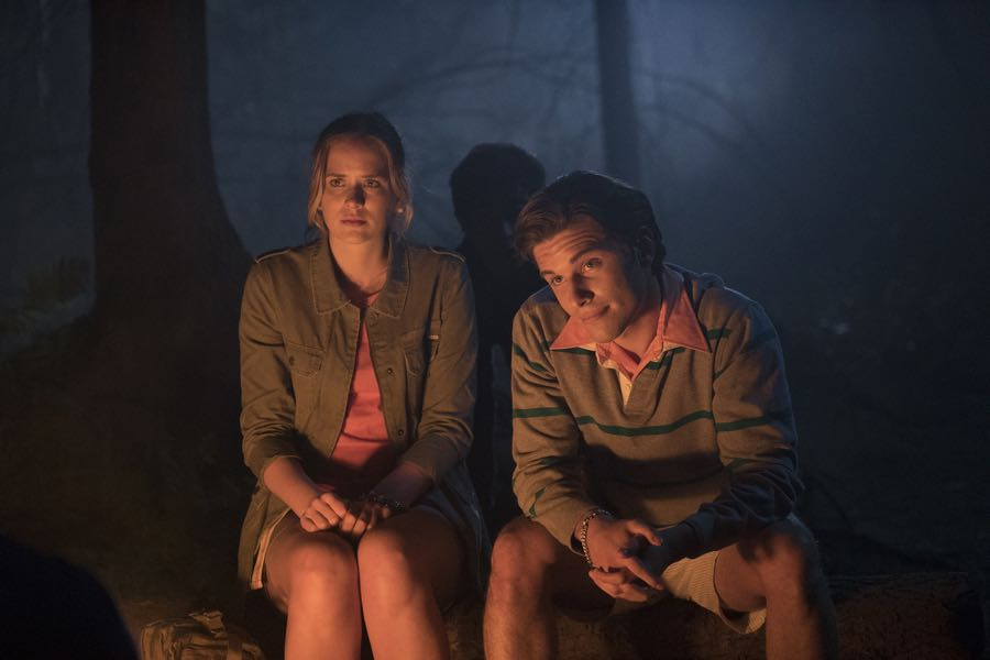 "DEAD OF SUMMER - ""Patience"" - Seven camp counselors plan for the best summer of their lives, but the evil lurking at Camp Stillwater has other plans in store for them in the series premiere of ""Dead of Summer,"" airing TUESDAY, JUNE 28 (9:00 - 10:00 p.m. EDT), on Freeform. (Freeform/Katie Yu) ELIZABETH LAIL, RONEN RUBINSTEIN"