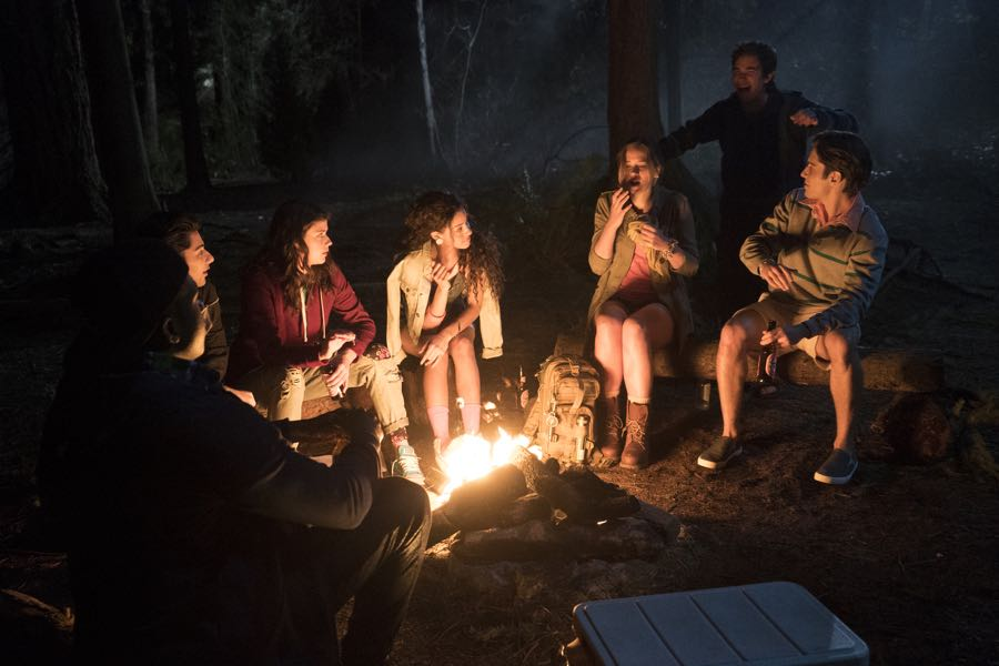 "DEAD OF SUMMER - ""Patience"" - Seven camp counselors plan for the best summer of their lives, but the evil lurking at Camp Stillwater has other plans in store for them in the series premiere of ""Dead of Summer,"" airing TUESDAY, JUNE 28 (9:00 - 10:00 p.m. EDT), on Freeform. (Freeform/Katie Yu) MARK INDELICATO, AMBER CONEY, PAULINA SINGER, ELIZABETH LAIL, ZACHARY GORDON, RONEN RUBINSTEIN"