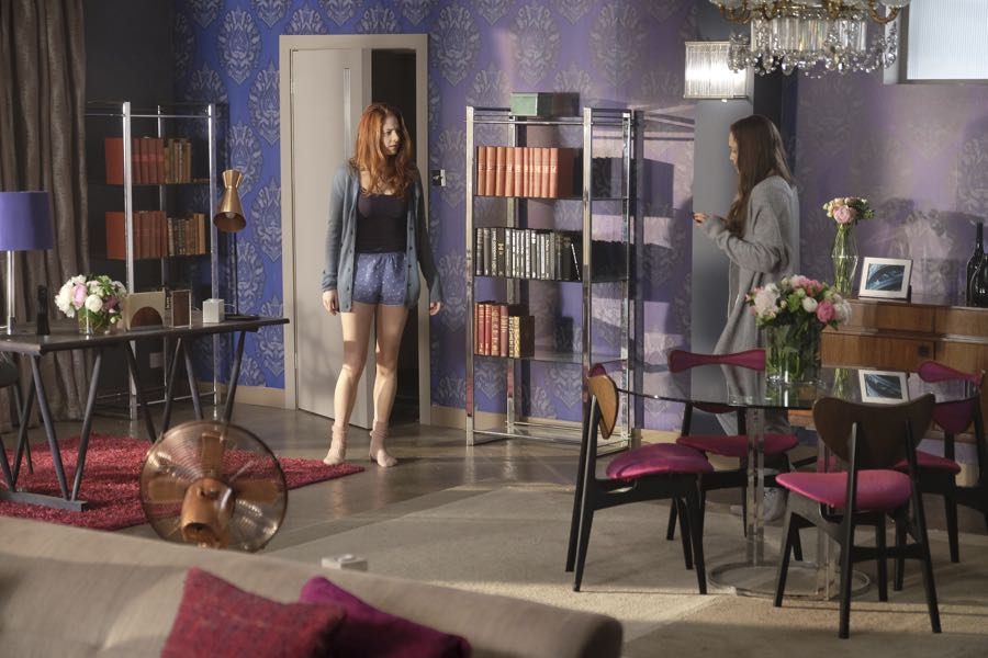 """GUILT - """"Exit Wounds"""" - Grace spirals after reading hateful remarks about herself on the internet, on an all-new episode of """"Guilt,"""" airing MONDAY, JUNE 27 (9:00 - 10:00 p.m. EDT), on Freeform. (Freeform/Angus Young) EMILY TREMAINE, DAISY HEAD"""