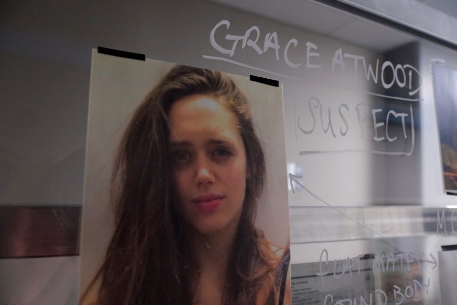 """GUILT - """"Exit Wounds"""" - Grace spirals after reading hateful remarks about herself on the internet, on an all-new episode of """"Guilt,"""" airing MONDAY, JUNE 27 (9:00 - 10:00 p.m. EDT), on Freeform. (Freeform/Angus Young) PRODUCTION SETS AND PROPS"""