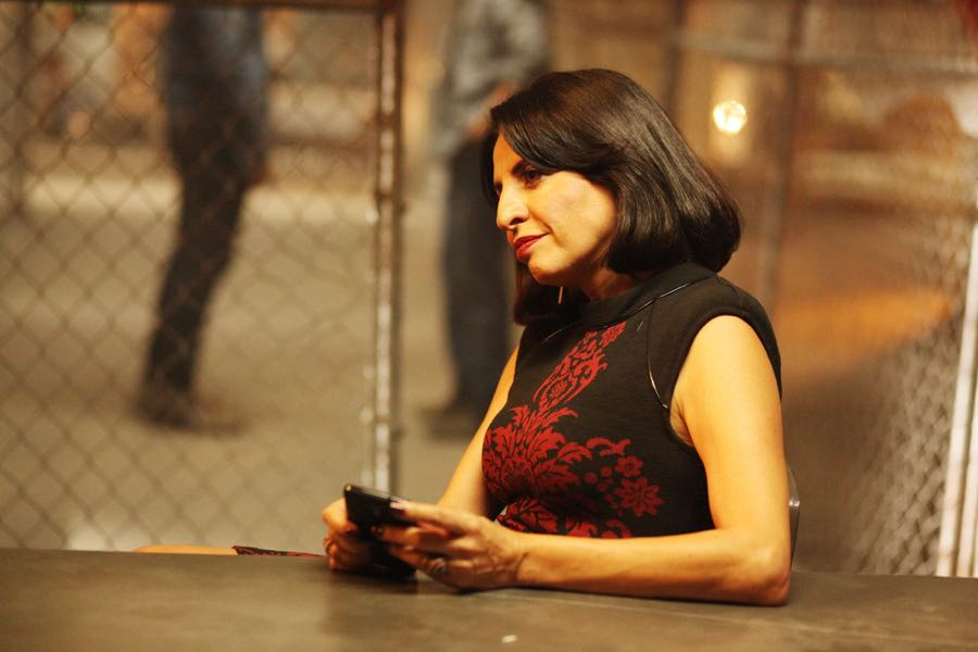 "QUEEN OF THE SOUTH -- ""Caurenta Minutos"" Episode 102 -- Pictured: Veronica Falcon as Camila Vargas -- (Photo by: Bill Matlock/USA Network)"