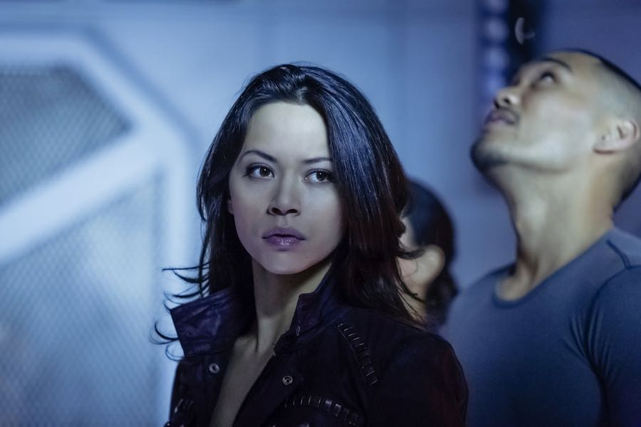 "DARK MATTER -- ""Welcome To Your New Home"" Episode 201 -- Pictured: Melissa O'Neil as Two -- (Photo by: Jan Thijs/Prodigy Pictures/Syfy)"