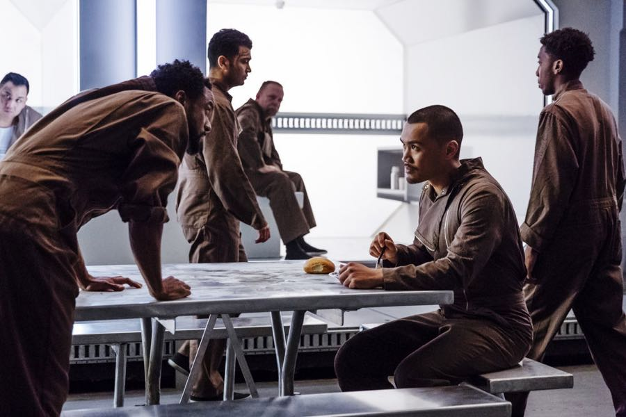 "DARK MATTER -- ""Welcome To Your New Home"" Episode 201 -- Pictured: Alex Mallari Jr. as Four -- (Photo by: Jan Thijs/Prodigy Pictures/Syfy)"